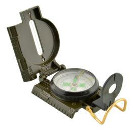Kariškas metalinis kompasas