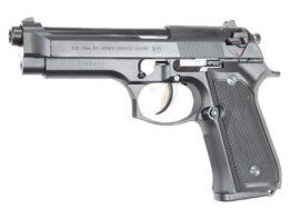 Airsoft pistoletas GBB M9 HW, KJ WORK